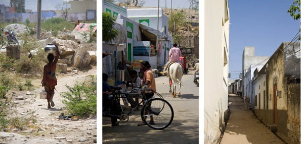 some of the scenes on the outskirts of Pushkar